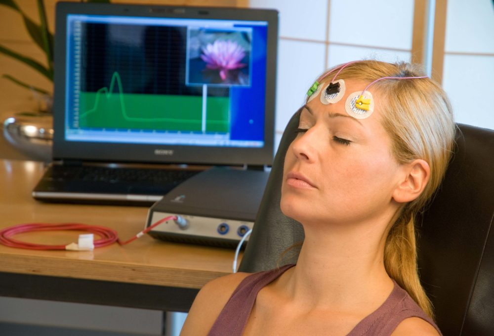 Mit Biofeedback Ihre Entspannungszustand bei der Übung messen und beeinflussen